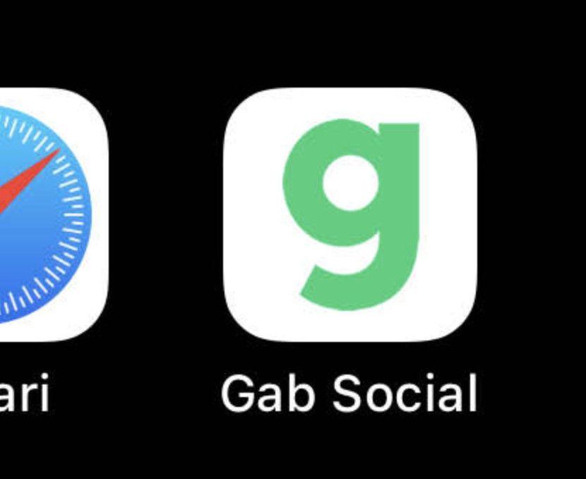 iphoneでGabのアプリをインストールした画面の画像